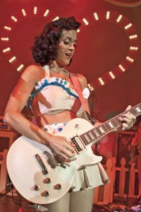 Katy Perry hot guitar